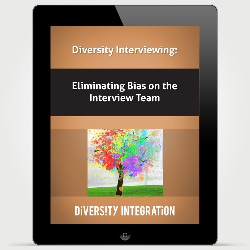 diversity interviewing eliminating bias on the interview team training interview team bias